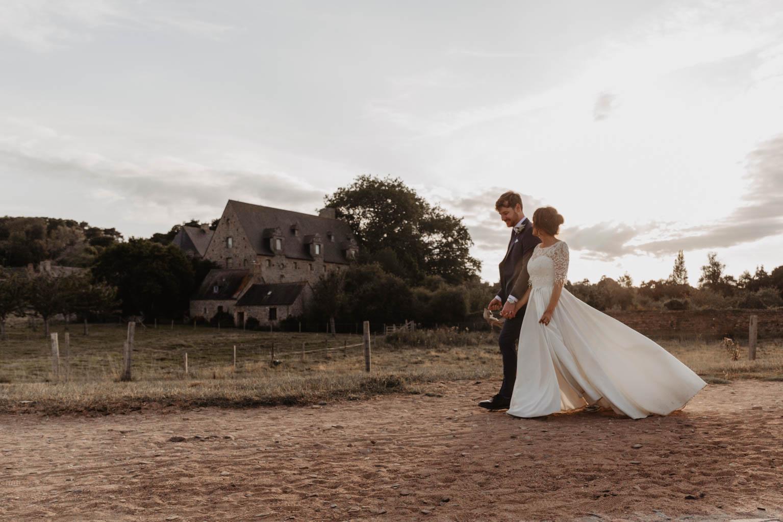 Photographe mariage bretagne maison beauport paimpol